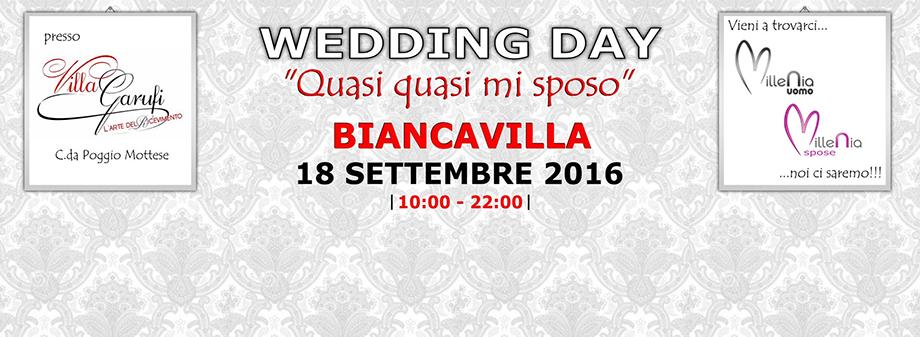 """Millenia Atelier al Wedding Day """"quasi quasi mi sposo"""" presso Villa Garufi"""
